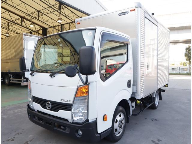 日産 アトラストラック アルミバン フルスーパーロー 積載1.2t