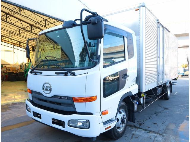 UDトラックス コンドル アルミバン パワーゲート ベッド付 積載2.9t
