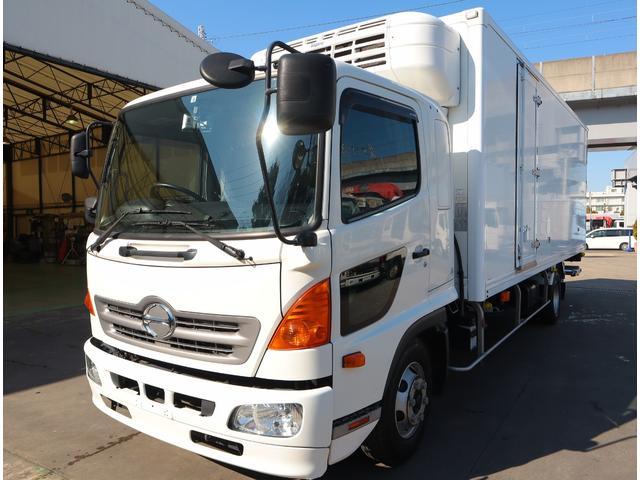 日野 低温冷凍車 パワーゲート 積載2.7t