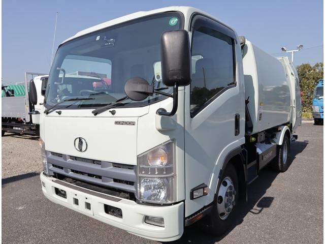 UDトラックス コンドル プレス ワイドセミロング 5.9立米 積載2.35t CNG お問い合わせ番号GK-20870