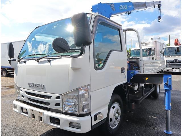 いすゞ 4段 RC付 リアジャッキ 高床ロング 積載2t