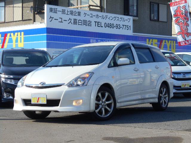 トヨタ Z スマートエントリーフルエアロHID盗難防止純正アルミ
