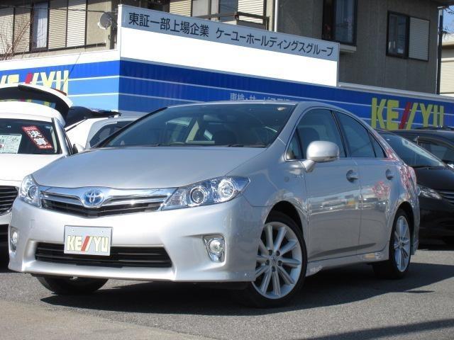 トヨタ S メーカーHDDナビ 電動シート 18インチアルミ HID