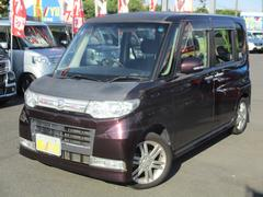 タントカスタムVセレクションターボ 4WD 外ナビ シートヒーター