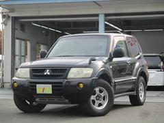 パジェロショート ZR 5MT 背面タイヤ 買取車両 GAW