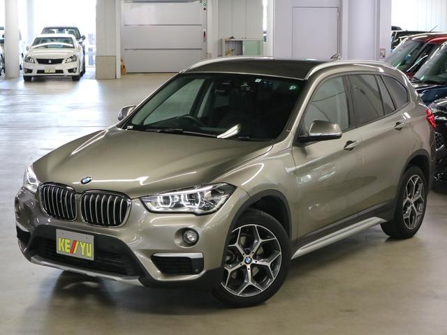 BMW X1 sDrive 18i xライン 1オーナー ドライビングアシスト ドラレコ シートヒーター 黒レザー パワーバックドア パークアシスト ソナー iDriveナビ バックカメラ Bluetooth ETC インテリジェントセーフティ