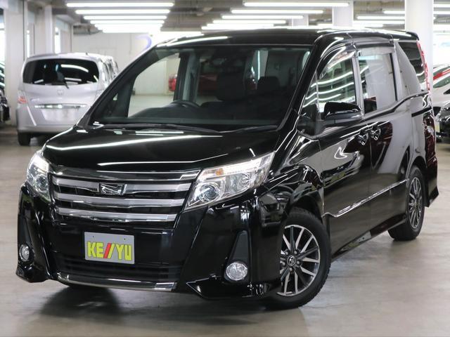 トヨタ ノア Si 専用エアロバンパー セーフティセンスC 電動スライドドア LEDヘッドライト アイドリングストップ 純正SDナビ BluetoothAudio 12セグTV 純正16インチスタッドレス 横滑り防止装置