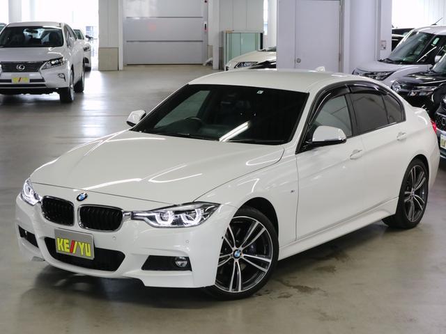 BMW 3シリーズ 320i Mスポーツ HUD BSM ACC パーキングアシスト OP19AW・Mスポブレーキ フロントコーナー・バックカメラ ソナー iDrive Bluetooth ETC2.0 パドルシフト 衝突軽減ブレーキ 禁煙車