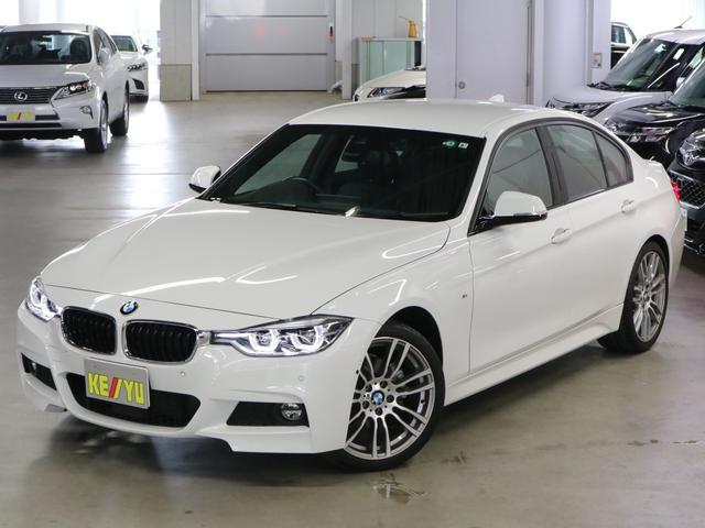 BMW 3シリーズ 320i Mスポーツ ダコタレザーシート シートヒーター HUD BSM ACC フロントコーナー・バックカメラ パーキングアシスト クリアランスソナー iDriveナビ Bluetooth DVD ETC2.0 19AW