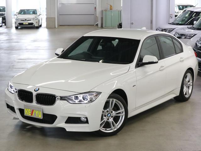 BMW 3シリーズ 320d Mスポーツ ディーゼルターボ パーキングセンサー iDrive バックカメラ Bluetooth USB ETC パドルシフト アイドリングストップ キセノンヘッドランプ 純正ランフラット・18インチAW 禁煙車