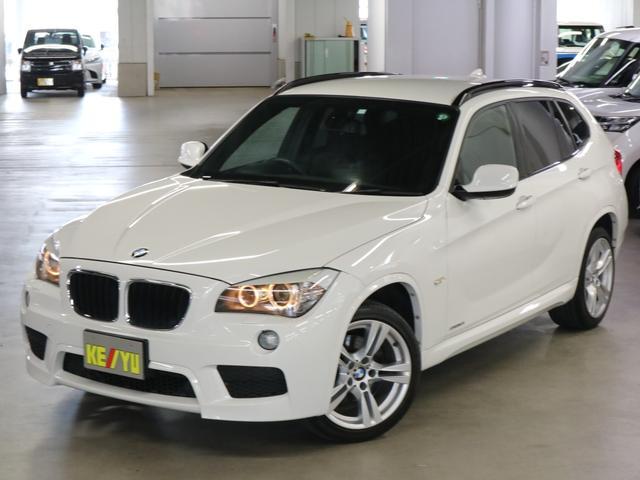 BMW X1 sDrive 18i Mスポーツ 1オーナー iDriveHDDナビ ETC USB・AUX端子 CD・DVD再生 ミュージックサーバー ルーフレール HIDヘッドライト オートライト 純正18インチアルミ 純正ランフラット 禁煙車