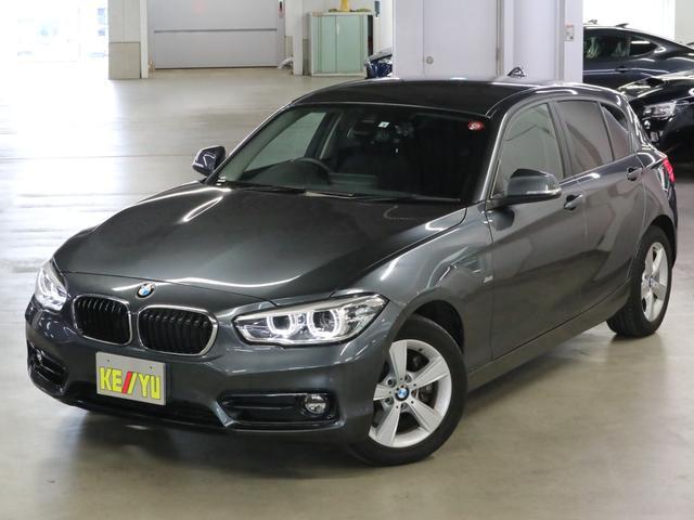 BMW 118i スポーツ 衝突軽減ブレーキ 車線逸脱警報 前後ドラレコ クルコン パーキングセンサー iDrive バックカメラ Bluetooth DVD ETC アイドリングストップ ランフラット スペアキー・記録簿・取説