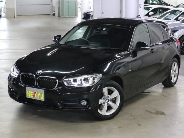 BMW 118d スポーツ ディーゼルターボ ドライビングアシスト アクティブクルーズコントロール パーキングアシスト・ソナー iDrive バックカメラ Bluetooth DVD ETC LEDライト アイドリングストップ