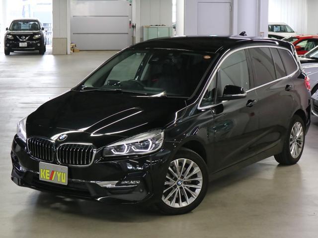 BMW 218dグランツアラー ラグジュアリー ディーゼルターボ アドバンスドセーフティパッケージ ACC HUD 前後ドラレコ ダコタレザー シートヒーター パワーバックドア パーキングアシスト・センサー 純正HDDナビ 禁煙車