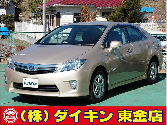 トヨタ S HDDナビTV Bモニター 禁煙車