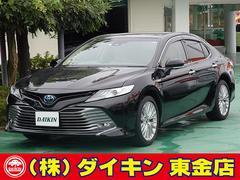 カムリGレザーパッケージ 純正ナビTV 本革 SR