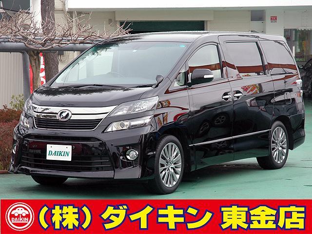 トヨタ 2.4Z ゴールデンアイズ ツインナビTV ワンオーナー