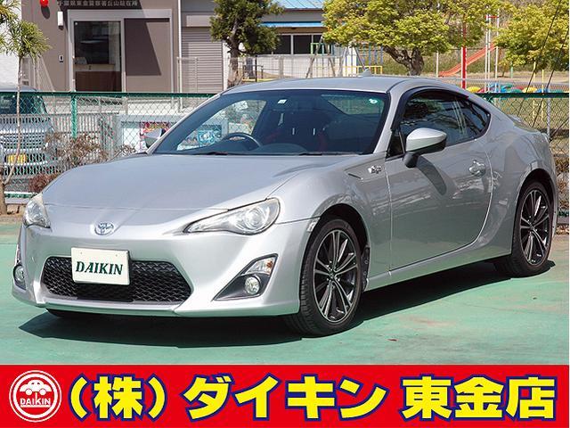 トヨタ 86 GT SDナビ 地デジ Bモニター HIDライト スマートキー パドルシフト