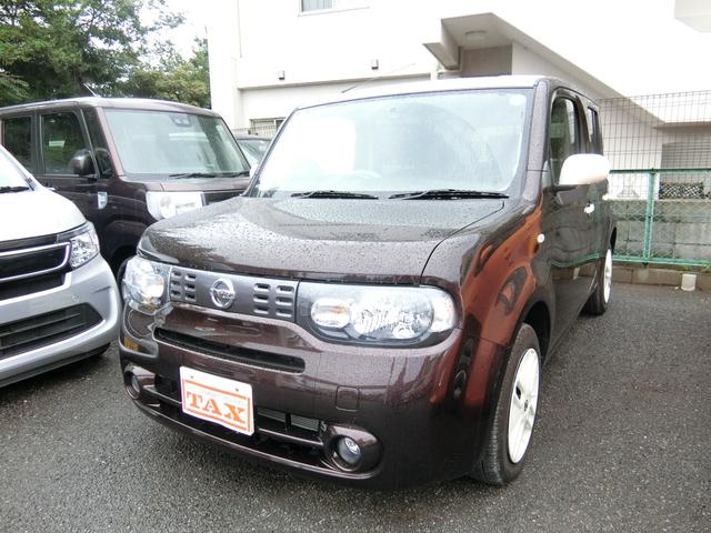 日産 X Vセレ マイキューブ 1オ-ナ・2トン色・ナビ・Bカメラ