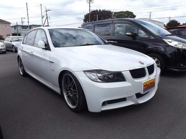 BMW 320i Mスポーツパッケージ19インチアルミローダウン