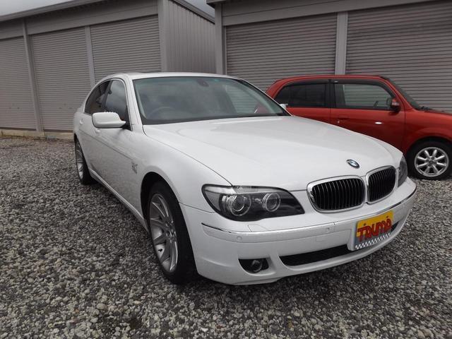 BMW 7シリーズ 750i 事故修復歴無し走行30800キロ本革サンルーフ
