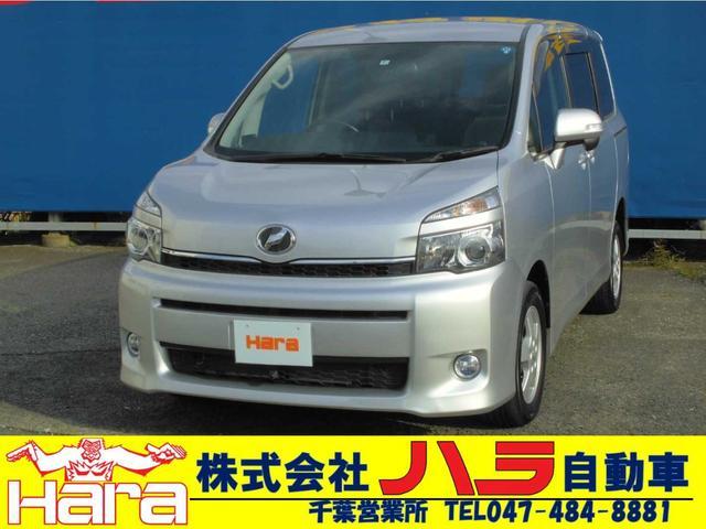 トヨタ ヴォクシー トランス-X 4WD 両側自動ドア リアエアコン HDDナビ