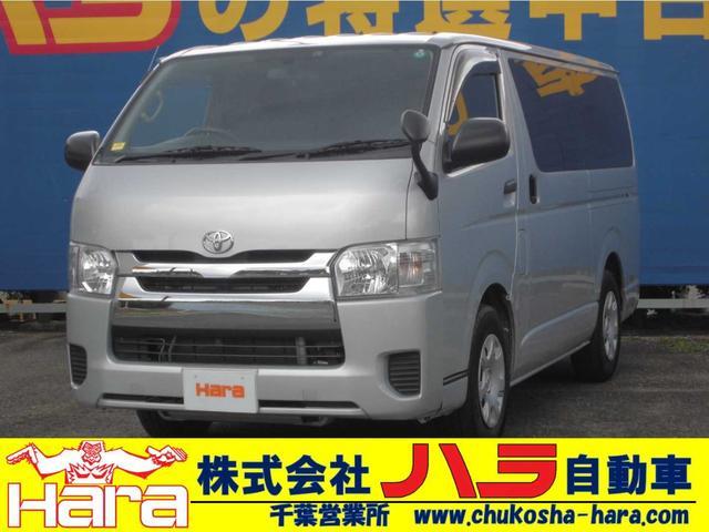 トヨタ ロングDX GLパッケージ 9人乗り リアエアコン 6速AT SDナビ テレビ Bluetooth バックカメラ ETC