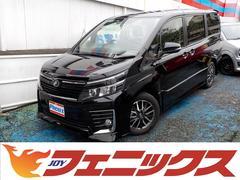 ヴォクシーZS トヨタセーフティセンス HDDツインナビバックモニター