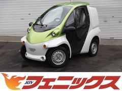 トヨタトヨタコムス コムス Bcomデリバリータイプ オプションキャンバスドア&ツートンカラー&スカッフプレート デリバリーBOX