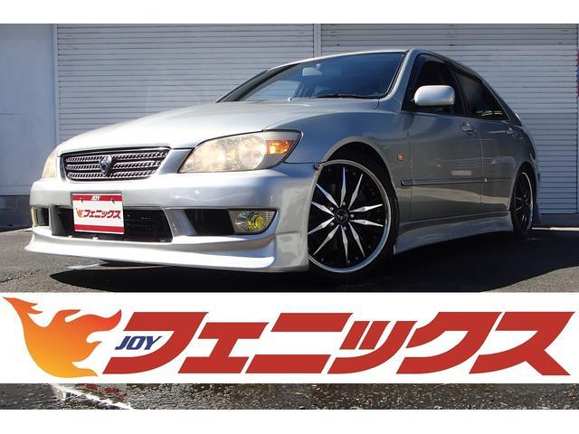 トヨタ RS200 Zエディション 6速MT・VERTEXフルエアロ・大型リアスポ・18アルミ・車高調・走行31185km・ナビ