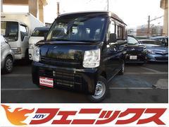 エブリイPC 4WD!ハイルーフ!キーレス!両側スライド!専用オーディオ!CD!AUX!リアワイパー!専用ドアバイザー!ラバーマット!最大積載量350KG!ヘッドライトレベライザー!荷室フルフラット!