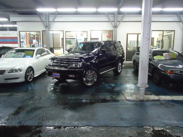 トヨタ 専用ラグジー仕様20インチAWキーレス4WDサイドステップ