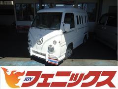 ドミンゴワーゲンバス仕様4WD専用白革シートカバーRクーラーヒーター