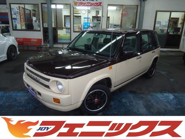 日産 タイプI4WD専用レトロスタイル専用HDDナビ社外AW