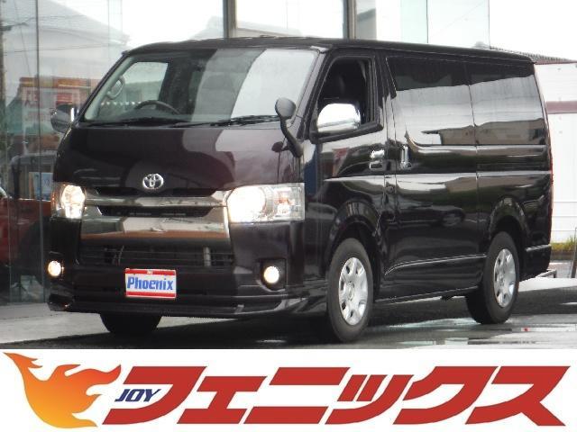トヨタ スーパーGLダークプライムWパワスラスマートキーLEDナビ