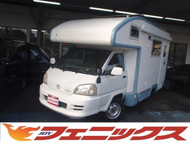 トヨタ バンテックアトムキャンピングFFヒーター付インバーターAC