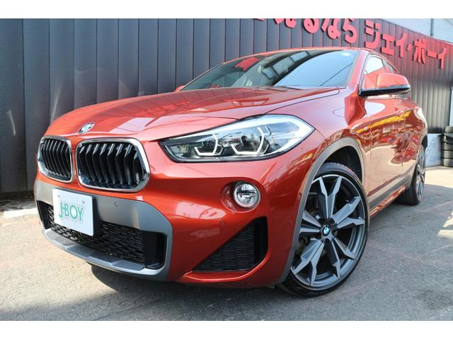 BMW xDrive 20i MスポーツX 純正HDDナビバックカメラ ブラウンレザーシート パワーバックドア 1オーナー 20インチAW