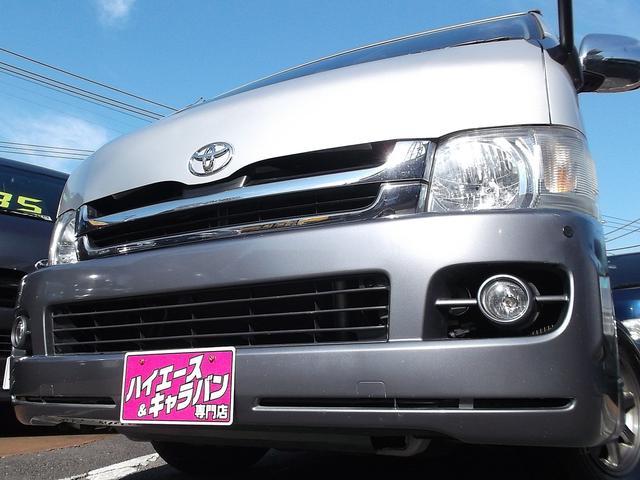 トヨタ ワイドスーパーGL3.0DTナビTV後席TVBカメラ黒革調