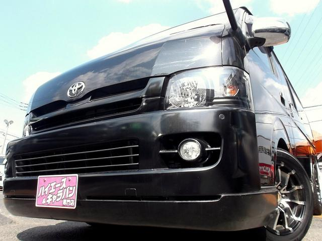 トヨタ ワイドスーパーGLナビTV3モニターベット車内泊内外カスタム