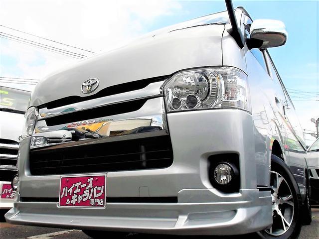 トヨタ スーパーGL4型3.0DT1オナ禁煙ナビTVSアラームLED