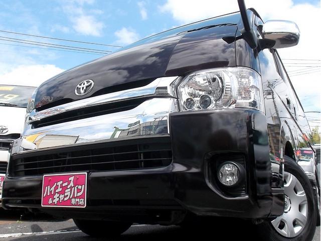 トヨタ ワイドスーパーGL4型3.0DT1オナナビTVLEDスマート