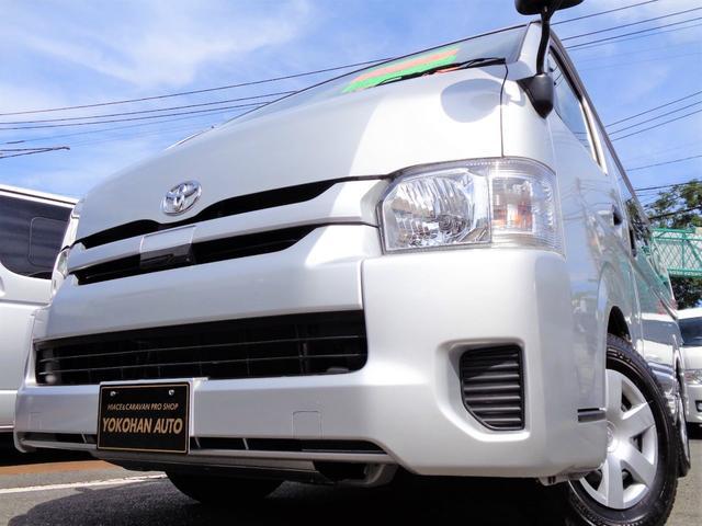 トヨタ ハイエースワゴン DXセーフティー5型6AT1オナ禁煙ナビ自動ドア新規フィルム