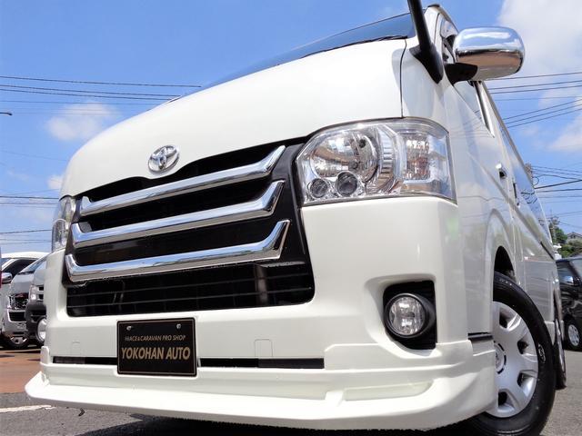 トヨタ スーパーGL4型3.0DT1オナナビTV電動ドアスマートキー
