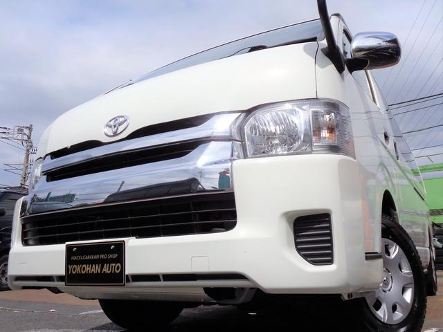 トヨタ ハイエースワゴン グランドキャビン4WD4型6AT法人1オーナナビTV電動ドア