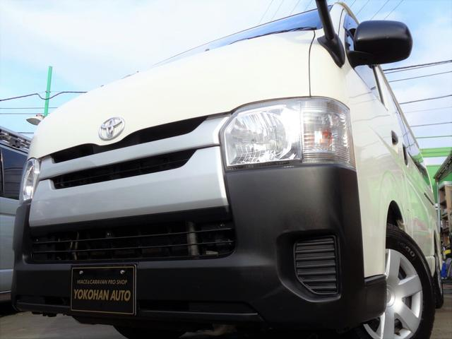 トヨタ ロングDX 4型3.0DT9人乗り法人1オーナーナビTVバックカメラWエアコン電格ミラーTベル交換済み