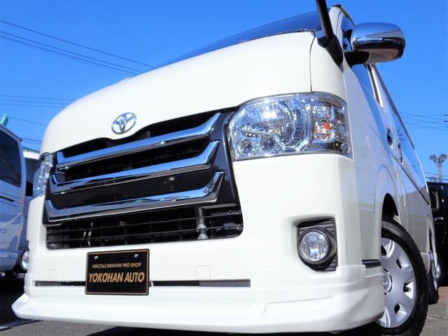 トヨタ ロングスーパーGL 4型3.0DT1オーナー禁煙車SDフルセグバックカメラエアログリルLEDライトTベル交換済