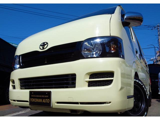 トヨタ ロングDX メモリーフルセグBカメラ15AW&ナスカーBKインナーLEDライト同色バンパー電格ミラー後席リクライニングシート
