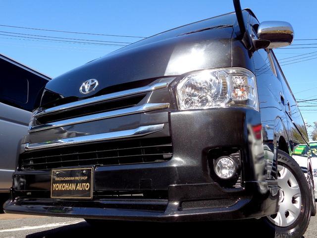 トヨタ ロングワイドスーパーGL 4型6AT1オーナー禁煙車SDフルセグバックカメラエアログリルLEDライト