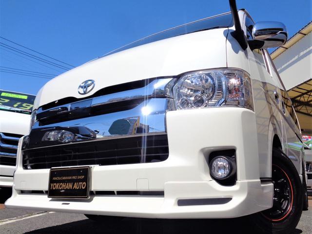 トヨタ GL 5型セーフティセンス6AT1オーナー禁煙ナビTV後席TVDレコーダー電動ドアスマートキーエアロLED15AW黒革黒木目