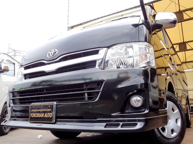 トヨタ GL 3型4WD1オーナー禁煙車SDナビフルセグTVバックカメラ電動ドアエアロ前後センサーHIDライト黒木目内装Wエアバックリアフィルム